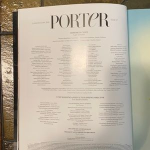 Other - RARE Porter magazine, summer 2018 Issue 27